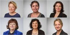 Anne-Laure Bedu (PS), Naïma Charaï (Générations), Sandrine Laffore (PS), Nathalie Lanzi (PS), Muriel Sabourin-Benelhadj (PS) et Maryline Simoné (PS) sont conseillères régionales de Nouvelle-Aquitaine.