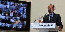 Face aux quelques 300 participants réunis lundi en visioconférence pour le lancement du Ségur de la santé, Edouard Philippe n'a pas précisé le niveau auquel l'Etat souhaite porter les investissements. Il a en revanche jugé nécessaire de les réorienter.