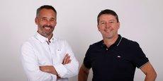 Emmanuel Debruères et Jean-Christophe Chétail, le nouveau président et le nouveau directeur général de l'entreprise Oxbow