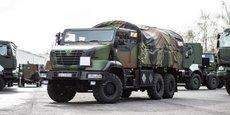 Arquus vise le renouvellement des camions tactiques de l'armée de terre (4-6 tonnes)
