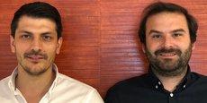 Jean-Marc Trinquier et Anthony Balester, dirigeants de Vassileo, dirigeants de Vassiléo.