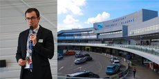 Philippe Crébassa, président du directoire de l'aéroport de Toulouse, révèle que la trésorerie de l'aéroport de Toulouse est attaquée de manière très vive par la crise.
