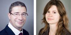 Olivier Levy, directeur interrégional Fonds Propres Réseau Est pour Bpifrance Investissement et Emilie Garcia, responsable Domaine Ecotechnologies à la direction Innovation de Bpifrance