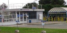 L'entrée ouest de GFT à Blanquefort