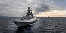 Deux frégates FREMM italiennes vont-elles accoster au Maroc ?