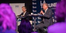 Pendant une centaine de minutes, Antoine Maurice et Jean-Luc Moudenc, candidats au second tour des élections municipales à Toulouse, ont débattu autour de thématiques économiques.