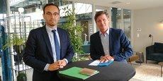 Thomas Cazenave et Nicolas Florian conduisent la liste Union pour Bordeaux en vue du second tour du 28 juin.