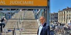 Pierre Hurmic, ce lundi 22 juin 2020, devant le tribunal judiciaire à Bordeaux.