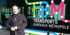 Christophe Duprat, élu métropolitain en charge des transports