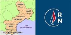Le 2nd tour des municipales ne confirme pas les ambitions du RN sur l'ex-Languedoc-Roussillon.