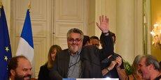 Olivier Bianchi le soir de sa réélection