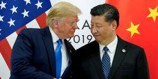Donald Trump et Xi Jinping, à l'occasion du sommet du G20, le 29 juin 2019.
