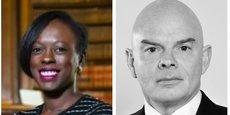 Sira Sylla, députée de la Seine Maritime et membre de la Commission des Affaires étrangères, et Alain Gauvin, avocat associé Asafo & Co.