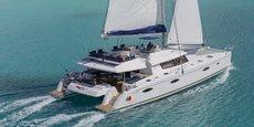 Un des plus grands catamarans réalisés par Fountaine Pajot.
