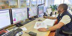 L'unité de contrôle d'Inertam avant la restructuration de cette filiale d'Europlasma.