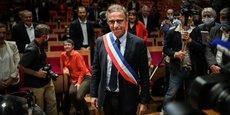 L'écologiste Pierre Hurmic a été élu maire de Bordeaux par le conseil municipal vendredi 3 juillet 2020.