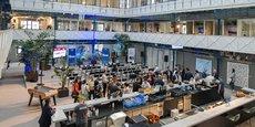 Héméra, à Bordeaux, appuie aussi son modèle économique sur une activité d'évènementiel et de restauration.
