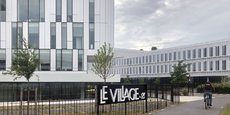 Village by CA a installé son antenne rémoise à Bezannes, près de la gare TGV.
