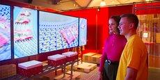 La boutique du musée du bonbon Haribo réalise plus de 1,5 M€ de chiffre d'affaires.