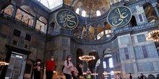 L'UNESCO DIT REGRETTER VIVEMENT LA DÉCISION DE LA TURQUIE SUR SAINTE-SOPHIE