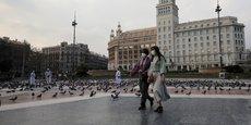 Près de 4 millions d'habitants de l'agglomération de Barcelone sont appelés à rester chez eux sauf pour des raisons de première nécessité.