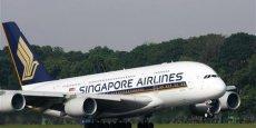 Singapore Airlines compte 19 A380 dans sa flotte