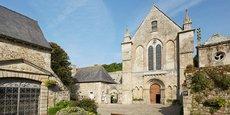 L'abbaye Saint-Magloire de Léhon abritera une école d'arts plastiques, une partie musée et un centre de création contemporaine assorti d'une résidence.