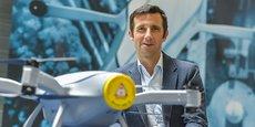Nicolas Billecocq, le directeur général d'Azur Drones.