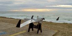 Le drone Boreal pourra désormais voler jusqu'à 70 km en milieu maritime pour des opérations de vol hors vue.