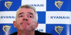 Le groupe explique qu'une deuxième vague de Covid-19 à l'automne en Europe est sa principale crainte à l'heure actuelle (en photo : le patron de Ryanair, Michael O'Leary).