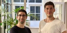 Alexandre Guenoun et Romain Serres, co-fondateurs de la start-up Byond, récemment rebaptisée Kiro.