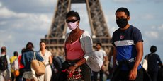 Le port du masque sera obligatoire dans certains espaces publics à forte fréquentation de la capitale.