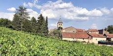 Le village de Vaux, dans le vignoble mosellan.