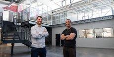 Maxime Feyeux et Kevin Alessandri de TreeFrog Therapeutics.