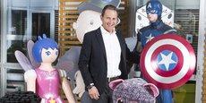 Philippe Gueydon, le pdg de King Jouet (dont le siège est basé à Voiron, en Isère), a repris cet été 117 magasins et 826 salariés de son concurrent belge Maxi Toys, à travers une nouvelle holding.