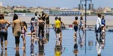 Comme dans d'autres régions, les touristes étrangers ont manqué à Bordeaux Métropole (sur notre photo le Miroir d'eau).