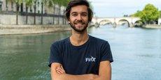 Harold Guillemin, fondateur et Pdg de la startup FinX.