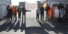 Les salariés d'AAA avaient manifesté à Toulouse contre le plan social à l'appel de la CFDT.