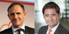 Olivier Sichel, directeur de la Banque des Territoires, et Nicolas Dufourcq, patron de Bpifrance, ont dévoilé, ce mardi 9 septembre, un plan à 40 milliards d'euros pour la transition écologique.