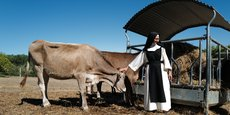 Les soeurs veulent augmenter la production agricole pour nourrir leur communauté grandissante et vivre du travail de la terre.