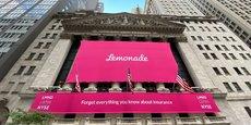 Lemonade a fait son entrée à la Bourse de New York le 2 juillet dernier.