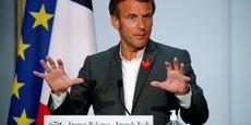 « La France va prendre le tournant de la 5G parce que c'est le tournant de l'innovation », affirme le président de la République.