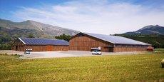 Installations photovoltaïques dans la Drôme.