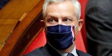 Le ministre de l'Economie, des Finances et de la Relance, Bruno Le Maire