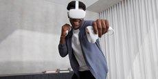 Le nouveau casque Oculus Quest 2 de Facebook, sur lequel le réseau social mise beaucoup pour démocratiser l'usage de la réalité virtuelle.