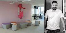 Sofradam, dirigée par Ludovic Badie-Cassagnet, a notamment réalisé l'aménagement des bureaux de la Mutuelle des Motards à Montpellier.