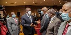 Hamed Bayoko rassure le patronat ivoirien du maintien « la paix, la sécurité et la stabilité » en Côte d'Ivoire.