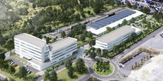 Le futur campus de SNCF Réseau à Bègles aura un accès direct aux voies ferrées.