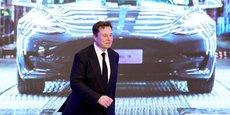 Image d'archive. Elon Musk, le patron de Tesla, le 7 janvier 2020 en Chine.