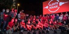 Les professionnels toulousains de l'événementiel et du spectacle se sont mobilisés autour de l'action symbolique nationale Alerte Rouge le 16 septembre.